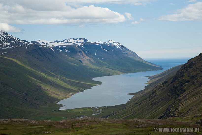 Fjord in east Iceland